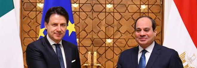 Conte-Al Sisi, lunga telefonata su crisi in Libia e caso Regeni