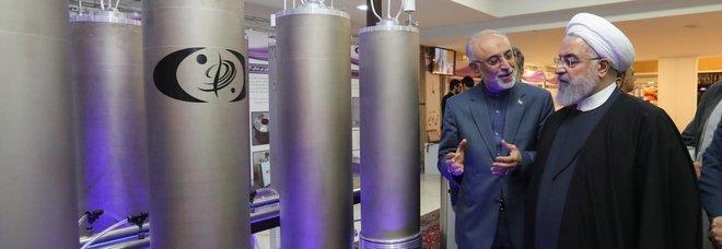 Il presidente Rohani visita gli impianti di arricchimento dell'Uranio