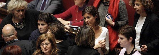 Deputate Pd alla Camera durante l'esame della legge elettorale