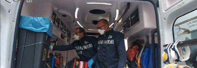 Ispezioni dei Nas sulle ambulanze, due denunciati a Latina