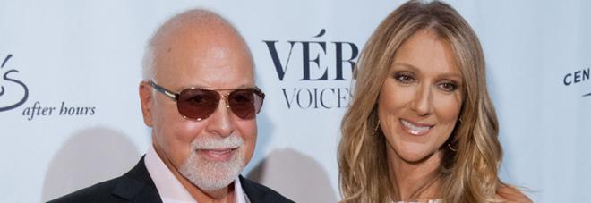 Celine Dion, morto il marito: era il suo manager da quando aveva 12 anni