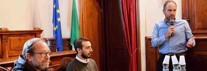 La conferenza stampa di presentazione dell'evento (Foto Itzel Cosentino)