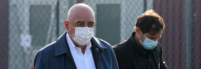 Galliani ricoverato per Covid: l'ex dirigente Milan sarebbe in condizioni non preoccupanti