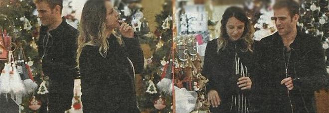 Myriam Catania incinta fa shopping col fidanzato Quentin