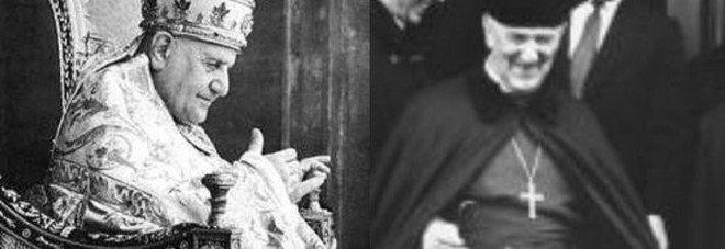2 dicembre 1960 Papa Giovanni XXIII riceve in Vaticano l'arcivescovo di Canterbury