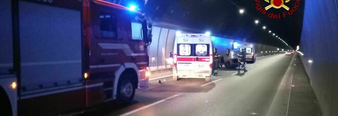 L'incidente di domenica mattina sul Raccordo Perugia-Bettolle