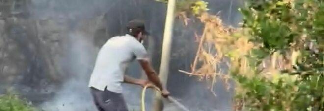 Roghi e paura: appartamento in fiamme a Coreno. A Pontecorvo intervento in un condominio