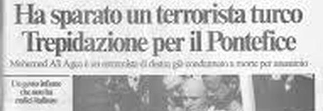 22 luglio 1981 Ali Agca condannato all'ergastolo per l'attentato a Giovanni Paolo II