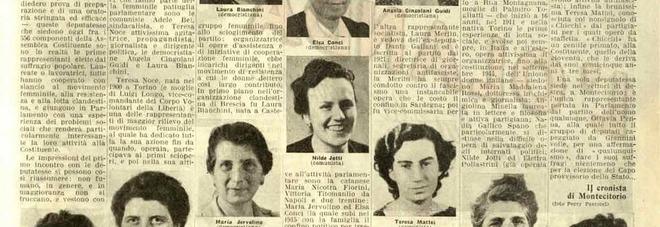 In un libro per ragazzi chi erano le 21 donne elette nella Costituente
