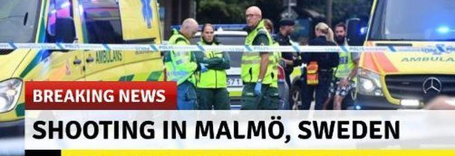 Sparatoria in centro a Malmoe, almeno quattro feriti