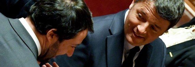 Renzi vs Salvini, a metà ottobre il primo duello in tv
