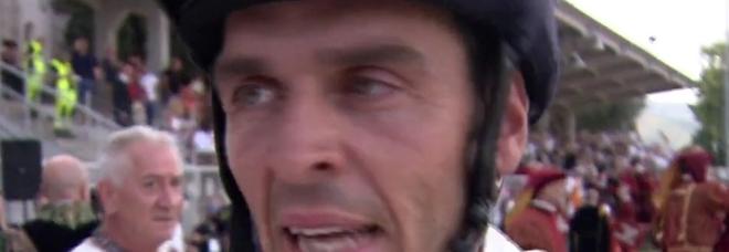 Quintana, il cavaliere Massimo Gubbini da Foligno, vince ad Ascoli Piceno davanti a Luca Innocenzi e Pierluigi Chicchini