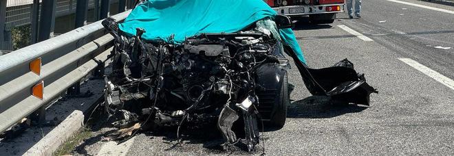Incidente mortale a Teramo (foto Newpress)