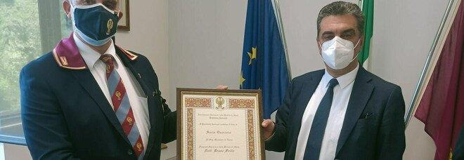 Il Questore di Terni, Bruno Failla nominato socio onorario dell'associazione nazionale della Polizia di Stato