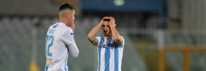 Calcio, il Pescara perde 3-0 a Cremona e retrocede in serie C