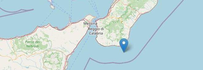 Terremoto in Calabria a largo della costa sud: scossa avvertita nel Reggino