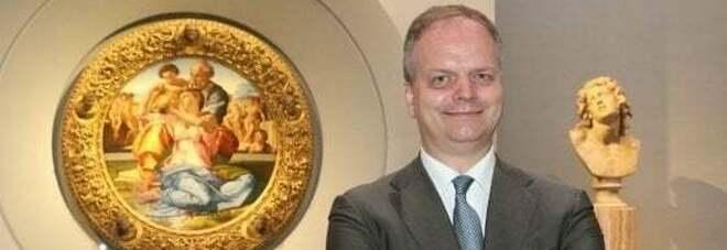 Eike Schmidt, direttore degli Uffizi