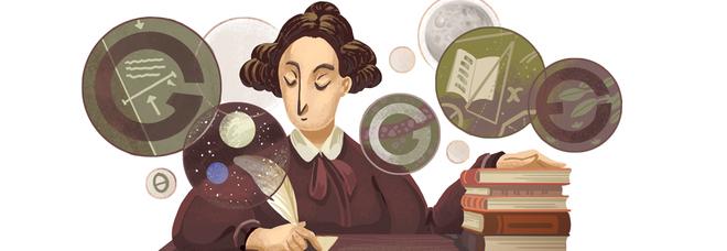 Google-Doodle della scienziata Mary Sommerville