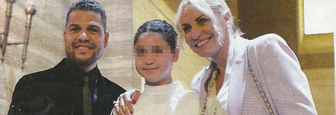 Antonella Clerici,  Eddy Martens e la figlia Maelle