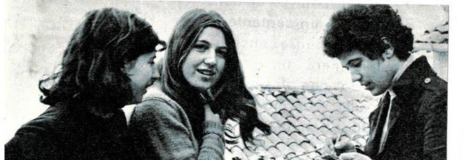 Lucio Battisti nel 1969 (foto da reportage di