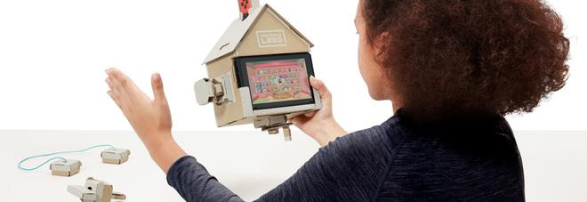 Un esempio di gioco per Nintendo Labo e Nintendo Switch