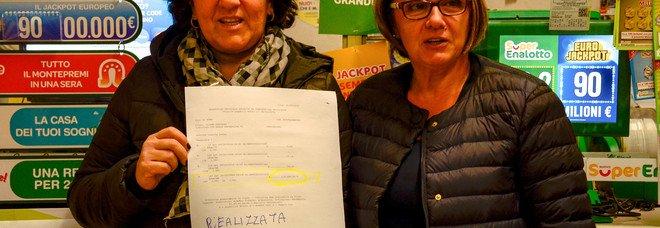Rieti, gioca 2 euro, ne vince 124.500