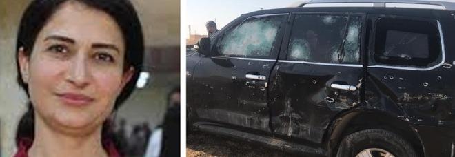 Hevrin Khalaf uccisa in Siria, la paladina femminista violentata e lapidata: il video dell'auto crivellata di proiettili