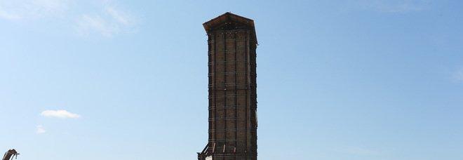 Amatrice, consolidamento e restauro della Torre Civica da parte del MiBact