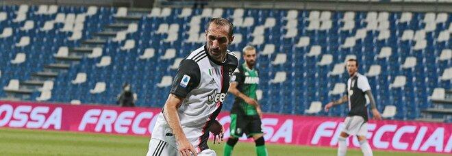La Juventus ufficializza il rinnovo di Chiellini fino al 2023