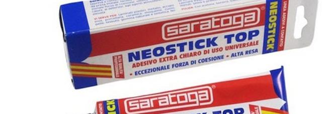 L'adesivo Neostick Top della Saratoga ritirato dal mercato