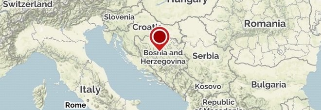 Terremoto in Bosnia di 5.1, il più forte degli ultimi anni: paura a Sarajevo