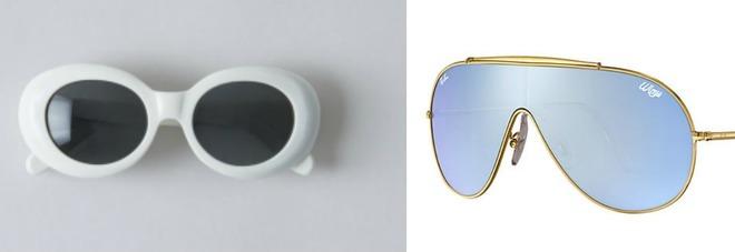 occhiali ray ban aviator anni 70