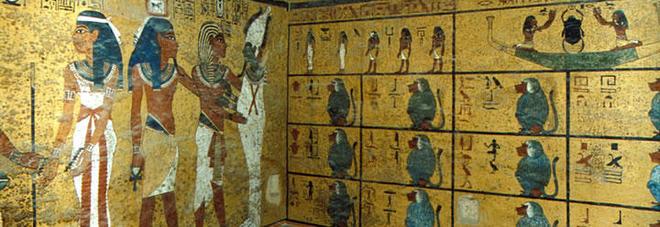 Egitto scoperte due stanze segrete nella tomba di tutankhamon for Planimetrie uniche con stanze segrete