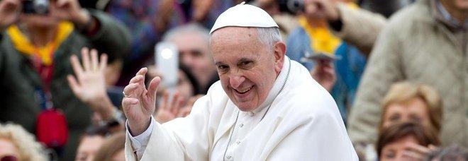 Il Papa stamattina in piazza San Pietro
