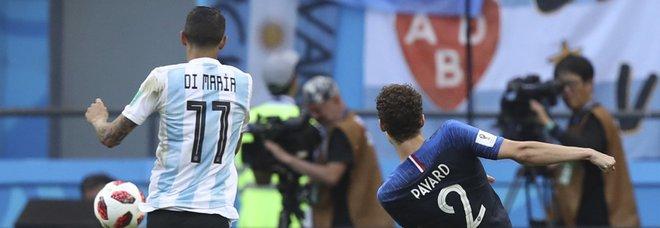 Francia, il gol di Pavard contro l'Argentina è il più bello del Mondiale