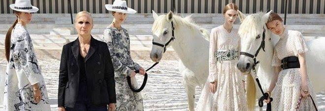 Maria Grazia Chiuri e le escaramuzas di Dior