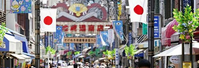 Giappone, indice servizi luglio -0,6% su mese