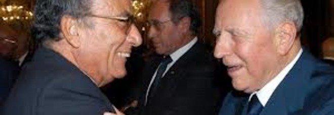 Franco Gallo con il presidente Ciampi