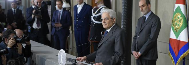 Consultazioni chiuse, Mattarella: confronto tra partiti non ha fatto progressi. Governo serve con urgenza
