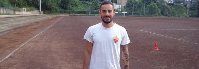 Fabio Giuliani autore del gol della Maglianese (Foto Leti)