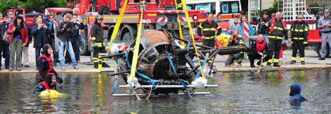 Ripescato un aereo dal lago di Bolsena Fu abbattuto dai tedeschi nel 1944