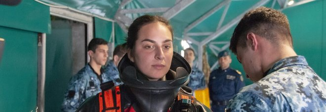 Chiara, la prima palombara nella storia della Marina: venerdì la consegna del brevetto