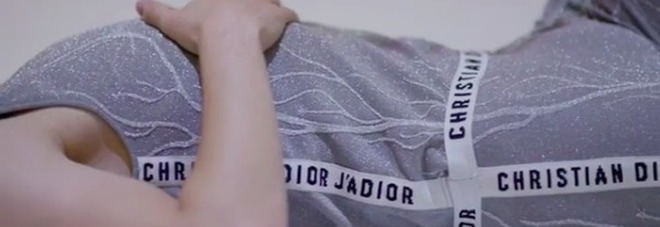 Costume ideato da Dior per il balletto di Daniil Simkin al Guggenheim (dal profilo instagram di Simkin)