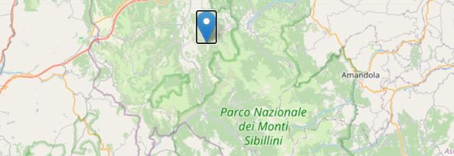 Terremoto a Macerata, scossa di 3.3: paura nelle Marche e in Umbria