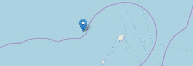 Terremoto, scossa di 3.8 a nord delle isole Eolie