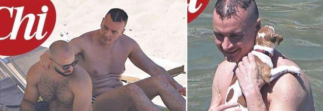 Rocco Casalino, weekend romantico a Ponza con il fidanzato cubano