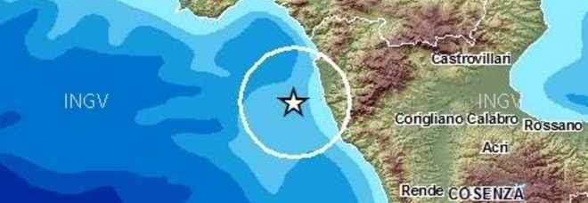 Terremoto in Calabria, scossa di magnitudo 3.3 sulla costa