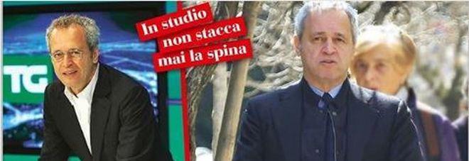 """Enrico Mentana prende in giro """"Chi"""": «Mi hanno fatto nonno a mia insaputa»"""