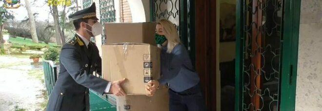 Seicento capi sequestrati donati a una casa famiglia dalla Guardia di finanza