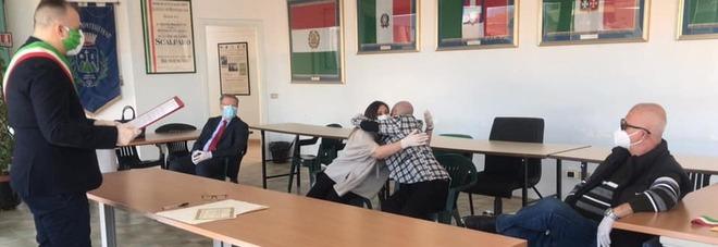 Coronaravirus, nozze a Montesilvano: primo sì con guanti e mascherine